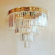 Elegant Kristal Taşlı Avize